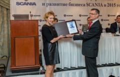Scania остается лидером рынка в 2015 году